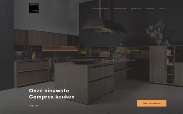 Studio Slof - Profesionele website - Portfolio -  Comprex Wije