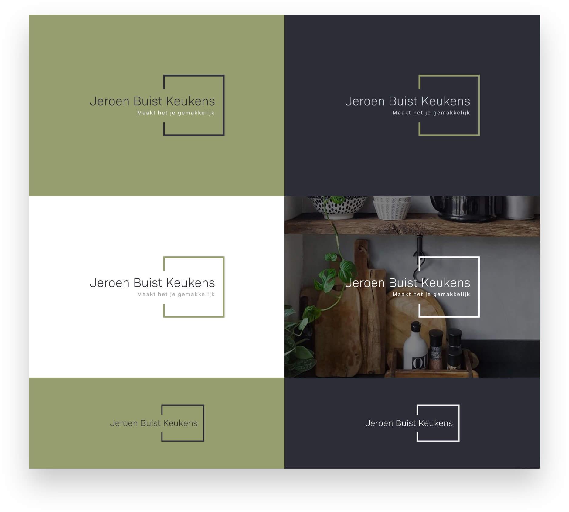 Studio Slof - Portfolio - Jeroen Buist Keukens - Branding