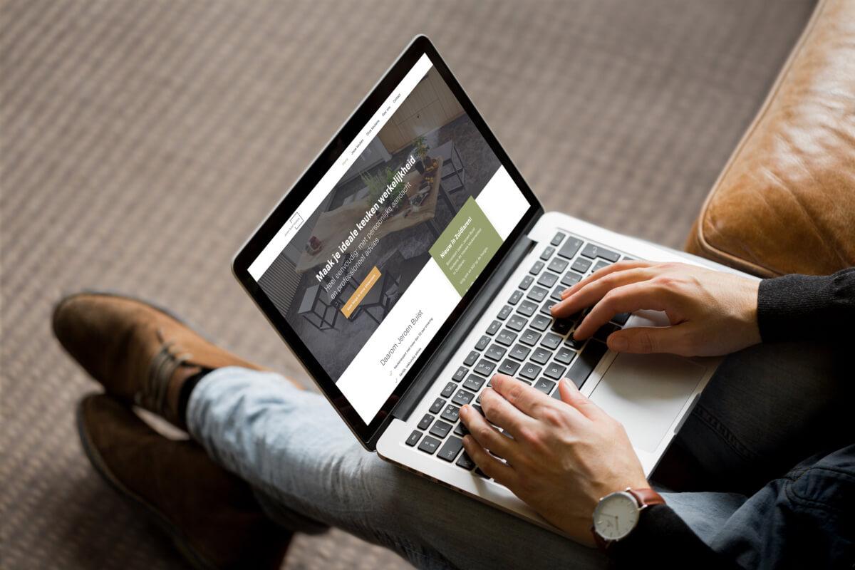 Studio Slof - Profesionele website - Projecten - Jeroen Buist Keukens